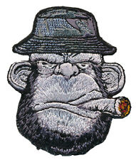 Ape Cigar Bucket Hat Monkey Tactical Embroidered Ape Morale Hook Loop Patch