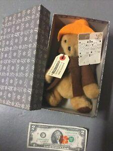 Vintage NOS Paddington Bear 1975 From Darkest Peru In Box w Orig $7 Price Tag