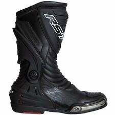RST 2102 Tractech III Waterproof Race Black Motorcycle Boots