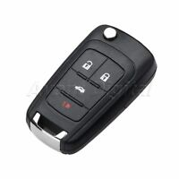 1Pc Remote Control Key 4 Button 433MHz Chip ID46 Battery Fit For 2011-2014 Cruze