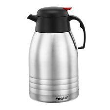 VonShef 2L Stainless Steel Dispenser Insulated Hot & Cold Flask Vacuum Tea Jug