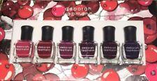 Deborah Lippmann Very Berry Shades Of Berry .27 Oz 6 Bottles New In Box