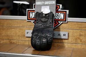 Harley-Davidson Ladies #1 Skull Leather riding Gloves 98375-17EW