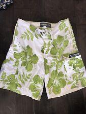 Mens Quiksilver Pacific sun Green board Shorts