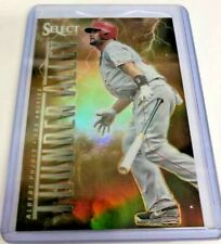 ALBERT PUJOLS 2013 Select Thunder Alley GOLD Prizm Los Angeles Angels #'d 06/25
