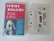 JIMMY ROGERS WALKING BY MYSELF CASSETTE TAPE COMPILATION 20 SONGS ROOTS 1990