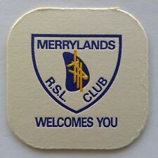 Merrylands RSL Club Welcomes You Coaster (B333)