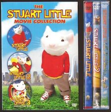 The Stuart Little Movie Collection 1, 2 & 3 - DVD Triple Feature BRAND NEW