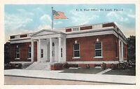 A85/ Deland Florida Fl Postcard c1915 U.S. Post Office Building