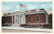 A85/ Deland Florida Fl Postcard c1915 U.S. Post Office Building