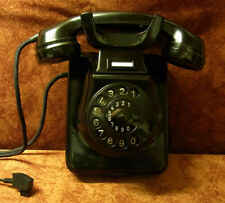Jubiläum! 60! W49 altes Telefon Bakelit Wandtelefon  TI-WA Telephone Top!