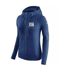Nike New York Giants NFL Vintage Full Zip Hoodie 843023 Womens Medium New