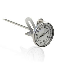 Milk Espresso Coffee Frothing Thermometer Kitchen Home Stainless Steel New