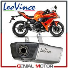Complete Exhaust Kat System Leovince Underbody Kawasaki Ninja 650 2017 > 2019