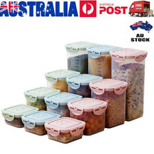 Food Storage Container Containers Set Kitchen Canister Canisters Jar Sugar PP