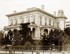 Crocker Home now Crocker Art Gallery, Sacramento, CA 1886 - Historic Photo Print