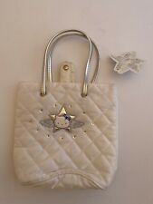 Hello Kitty Sanrio White Silver Angel Cute Small Handbag Kids Bag Tote Vintage