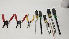 2 Gardner Bender Gb Gs 60 Wire Strippers Amp 4 Klien Tools Amp 2 Greenlee Tools