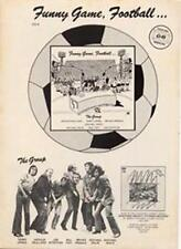 Monty Python Funny Game Football LP advert Time Out cutting 1972
