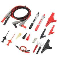 Multimeter Test Lead Kit for Fluke Electrical Alligator Clip Test Probe