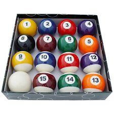 "American Pool Balls - Spots & Stripes - Full Size 57mm (2 1/4"")"