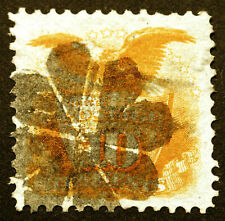 Classic #116 10c Yellow 1869 VF Used CV $150++