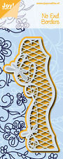 Joy Crafts Die Cutting & Embossing Stencil NO END TO BORDER 6002/0585