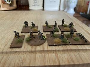 Caesar Miniatures 1/72 WW2 Well Painted And Based German Paratroopers X13