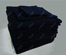 BULK SAVE 10x Bath Towel Dark Navy 100% Cotton Hotel AirBnb 68x137CM