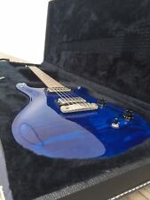 2000 Paul Reed Smith PRS McCarty Transparent Blue with Case and Tags
