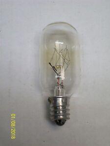 *LOT OF 6* GE LAMP LIGHT BULB CLEAR 15W 120V , 81+ (similar to 15T8/C)