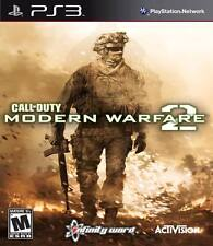 Call Of Duty: Modern Warfare 2 For PlayStation 3 PS3 COD Strategy Very Good 4E