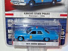 GREENLIGHT HOT PURSUIT KANSAS STATE POLICE 1975 DODGE MONACO