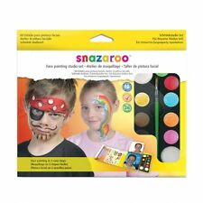 Snazaroo Face Paints Studio Set Kit (Face Painting in 3 Easy Steps)(1180018)