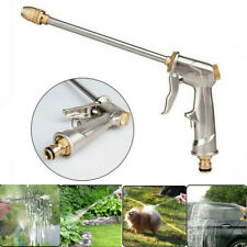 High Pressure Water Spray Gun Metal Brass Nozzle Garden Hose Pipe Lawn Car Wash