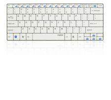 RAPOO E9050 Wireless Keyboard, 5.6mm, 2.4GHz, 10m, Media Control, White (DEU Lay