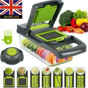 14In1 Food Vegetable Salad Slicer Dicer Chopper Kitchen Tool Fruit Peeler Cutter