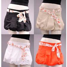 Markenlose unifarbene Mini-Damenröcke