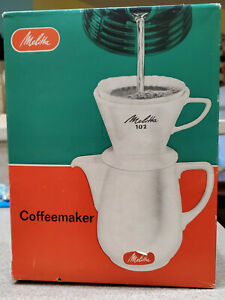 Vintage 1961 Melitta Coffeemaker 102 New in Box!!!
