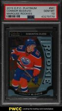 2015 O-Pee-Chee Platinum Marquee Rookies Connor McDavid ROOKIE RC #M1 PSA 10 GEM