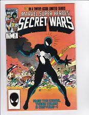 Marvel Super Heroes Secret War #8 NM- Symbiote Spider Man Venom