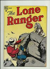 LONE RANGER #7 1949 DELL COMICS  GOLDEN AGE   TONTO  SILVER  NICE  SOLID VG/FN