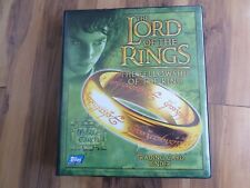 Lord of the ring trading cards