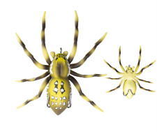"Lunkerhunt Hollow Body Phantom Spider ""Six Spot"""