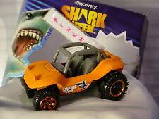 2016 Discovery Shark Week BAJA BANDIT☆matte Orange dune buggy☆Loose Matchbox