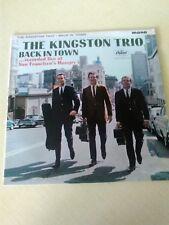 THE KINGSTON TRIO  - BACK IN TOWN  1964 VINYL LP