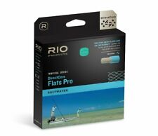 RIO DIRECTCORE FLATS PRO SALTWATER WF-12-F #12 WEIGHT FLY LINE IN GRAY/SAND/KELP