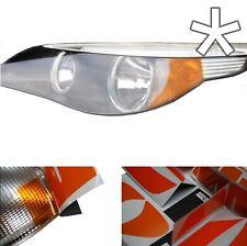 US - Design - Folie für Scheinwerfer Blinker BMW 5er E60 E61  links + rechts