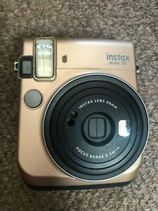 Fujifilm Fuji Film Instax Mini 70 Instant Camera Gold