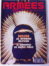 Armées d'Aujourd'hui n°152 du 07/1990; Dossier infirmer Militaire/ Service Publi